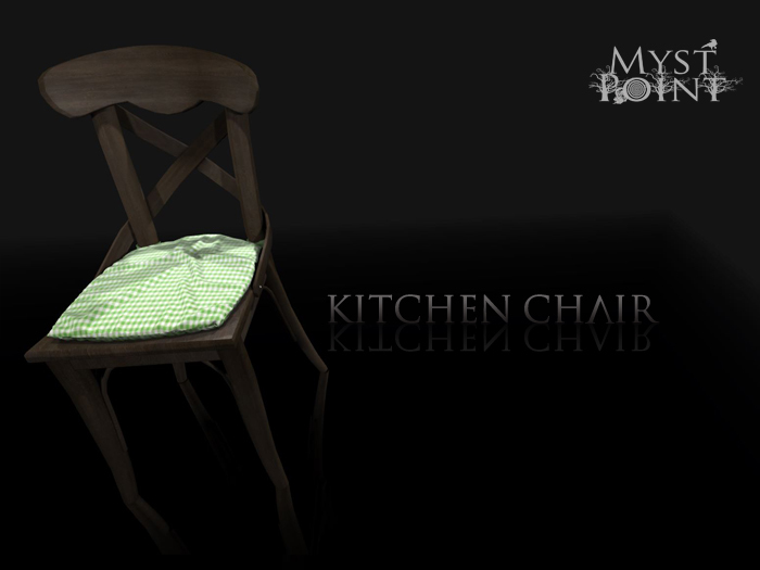 Second Life Marketplace Myst Point : Kitchen Chair