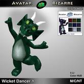 AB Dancing Wicket Dragon Decoration # 1