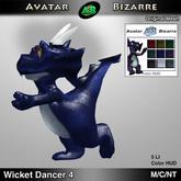 AB Dancing Wicket Dragon Decoration # 4