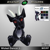 AB Dancing Wicket Dragon Decoration # 6