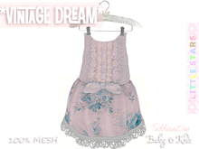 * {.:Little Stars.:} * Vintage Dream - Antique Sky {non-fitted TD Baby}