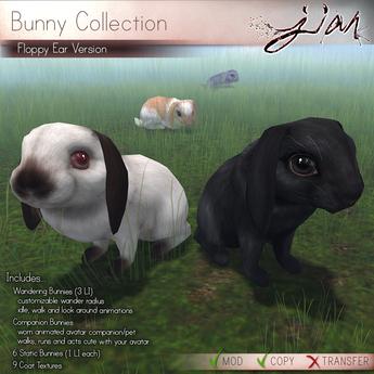 JIAN Floppy Ear Bunny Collection