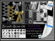brushes bow photoshop 06 +PSD