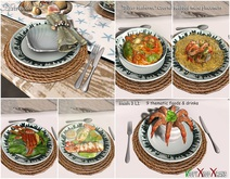 Aphrodite - The silver Seahorse - Coastal Seafood Placemat