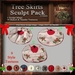 Christmas Tree Skirts Sculpt Pack, Sculpted Skirts,  3 Sculpty Maps & 39 Baked Textures Full Perms