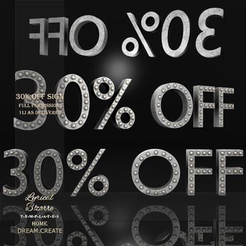 !Lyrical B!zarre Templates! - 30% OFF Sign MESH FP