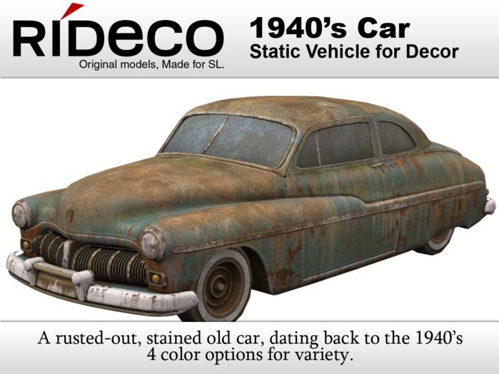 RiDECO - 1940s Car