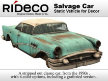RiDECO - Salvage Car