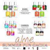 alme.   Summer Fun Gacha - COMMON 9 [Rez please!]