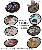 Candy Crunchers - Trays 2 - Bones - Rare