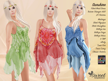 Sweet Temptations  Sunshine Dress - Maitreya, Slink, Belleza, eBody, Tonic, TMP, Classic - Fatpack