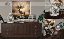 Di'Cor Ahana Console Table Set [Dark]