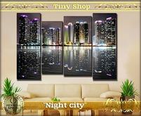 "Picture modular ""Night city"" 100%mesh (full perm)."
