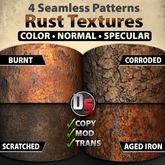 Rust Texture Set [Full Perm Version]