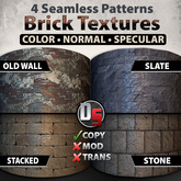 Brick Texture Set [Copy Only Version]