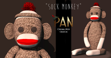 """*PAN* Sock Monkey - """"Pan's Toys"""""""