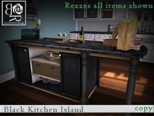 [BR] Animated Blk Kitchen Island