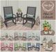 {what next} Palma Full Set (Rocking Chairs, Accent Table,Decor & Lanterns)