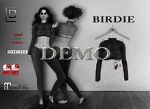 Baboom*DEMO--Birdie- longarmpulli