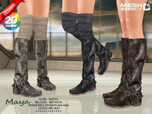 ::MA:: Maya Thigh Sock Boots - 20 COLOR PACK