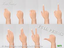 ~DecoFranzy~ Bento Hands Poses (MCT)