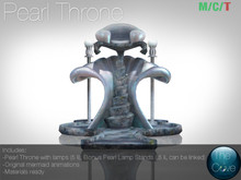 *The Cove* Pearl Throne (Wear to unpack)