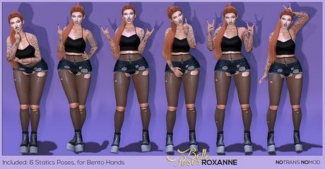 BellePoses - Roxanne (Bento Pack)