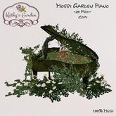 Kathy`s Garden Mossy Garden Piano