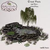 Kathy`s Garden Stone Pond
