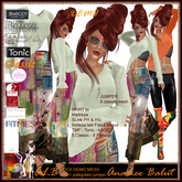 ALB VOCA wearable demo shirt 5 classics & (SKIRT - SLink - Maitreya - eBody - Belleza - TMP - Tonic - Classic - Fitmesh)