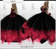 Ecarlate - Dress Red/Pink / Robe Rouge/Rose - Princess Tygane