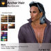 A&A Archer Hair All Colors Pack. Mens Mesh Hairstyle