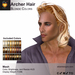 A&A Archer Hair Blonde Colors Pack. Mens Mesh Hairstyle