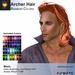 A&A Archer Hair Rainbow Colors Pack. Mens Mesh Hairstyle