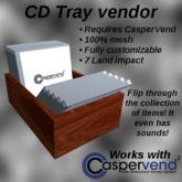 Nemi's CD Tray Vendor Shell For CasperVend