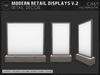 [AC] Modern Retail Displays V.2 - 4x Models - Full Permissions