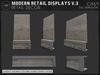 [AC] Modern Retail Displays V.3 - 4 x Models