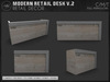 [AC] Modern Retail Desk V.2 - 2 x Models - Full Permissions