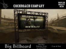 [COCKROACH] Big Billboard (Mesh)