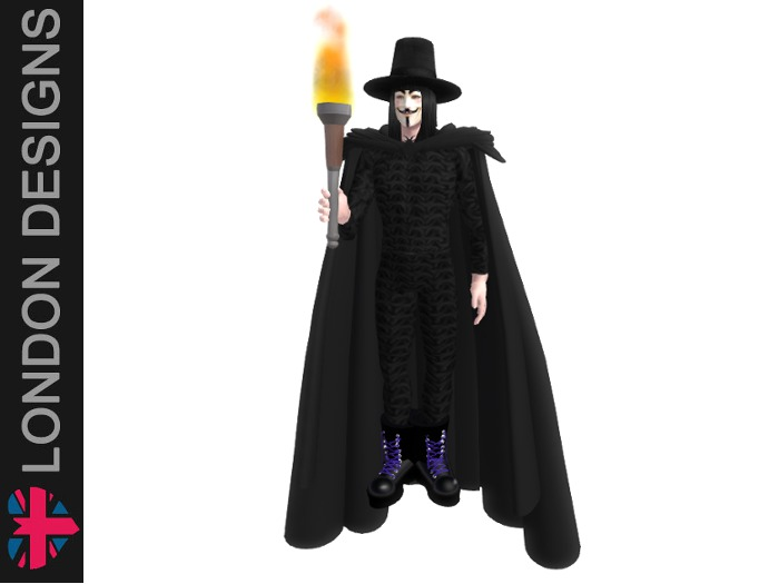 Guy Fawkes Costume (male)