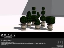 22769 - Topiary Set