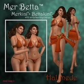 Mer Betta™ Halimede Merkini™ + Bettakini™ v3c bikini set