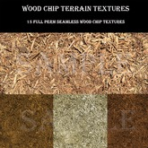 Wood Chips Terrain Textures