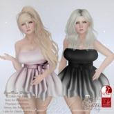 Perch - Cynthia Dress - Sky and Pink