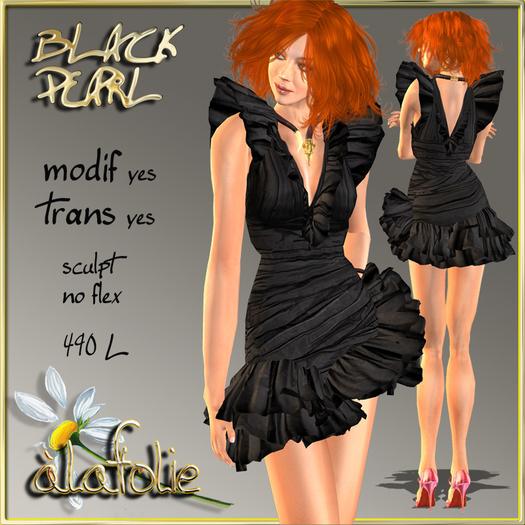 """""""AlaFolie"""" BLACK PEARL"""