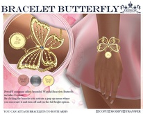 *PetroFF*  Bracelet Butterfly