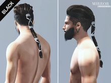 MIRROR - Ragnar Hair -Black Pack-