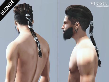 MIRROR - Ragnar Hair -Blonde Pack-