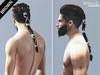 MIRROR - Ragnar Hair -Brown Pack-