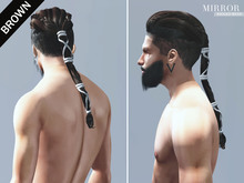 MIRROR - Ragnar Hair -Brown Pack-